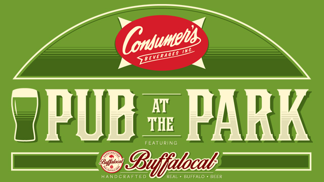 The restaurant at Coca-Cola Field is now Consumer's Pub at the Park.