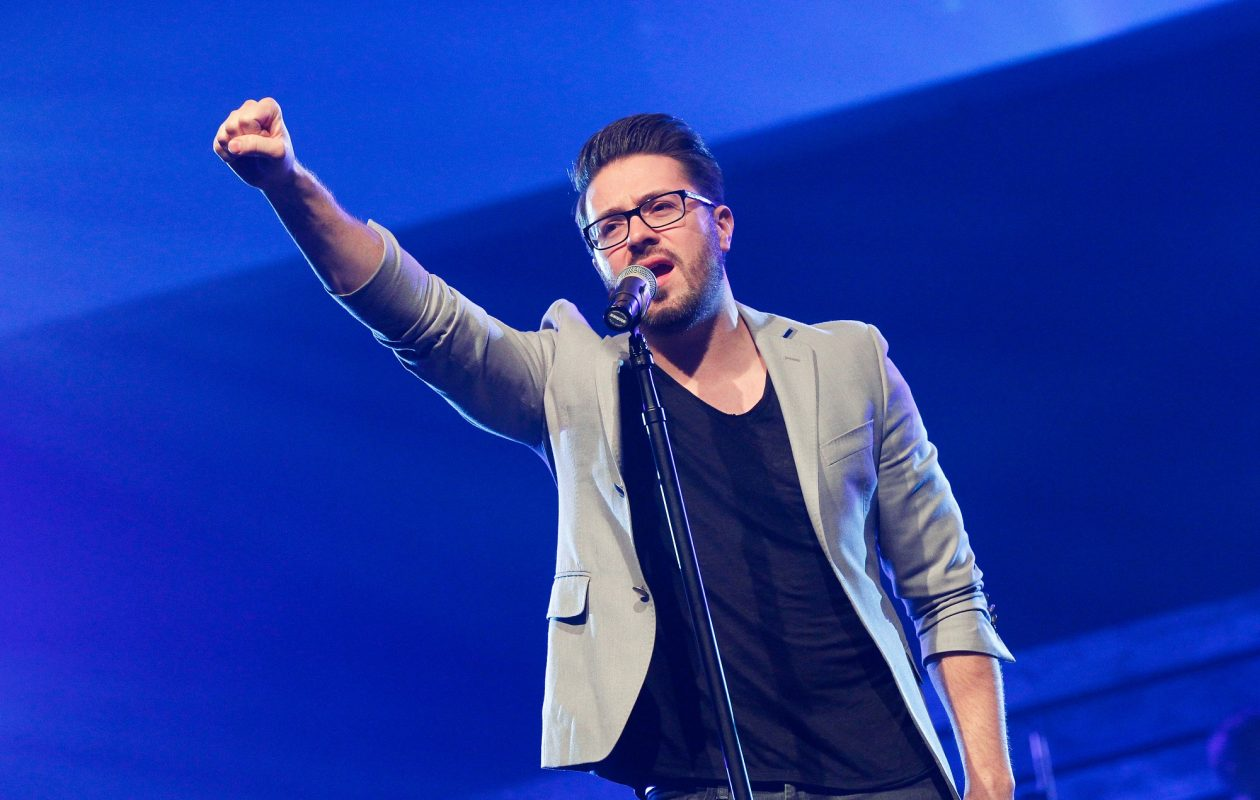 Danny Gokey will perform at Kingdom Bound. (Getty Images)
