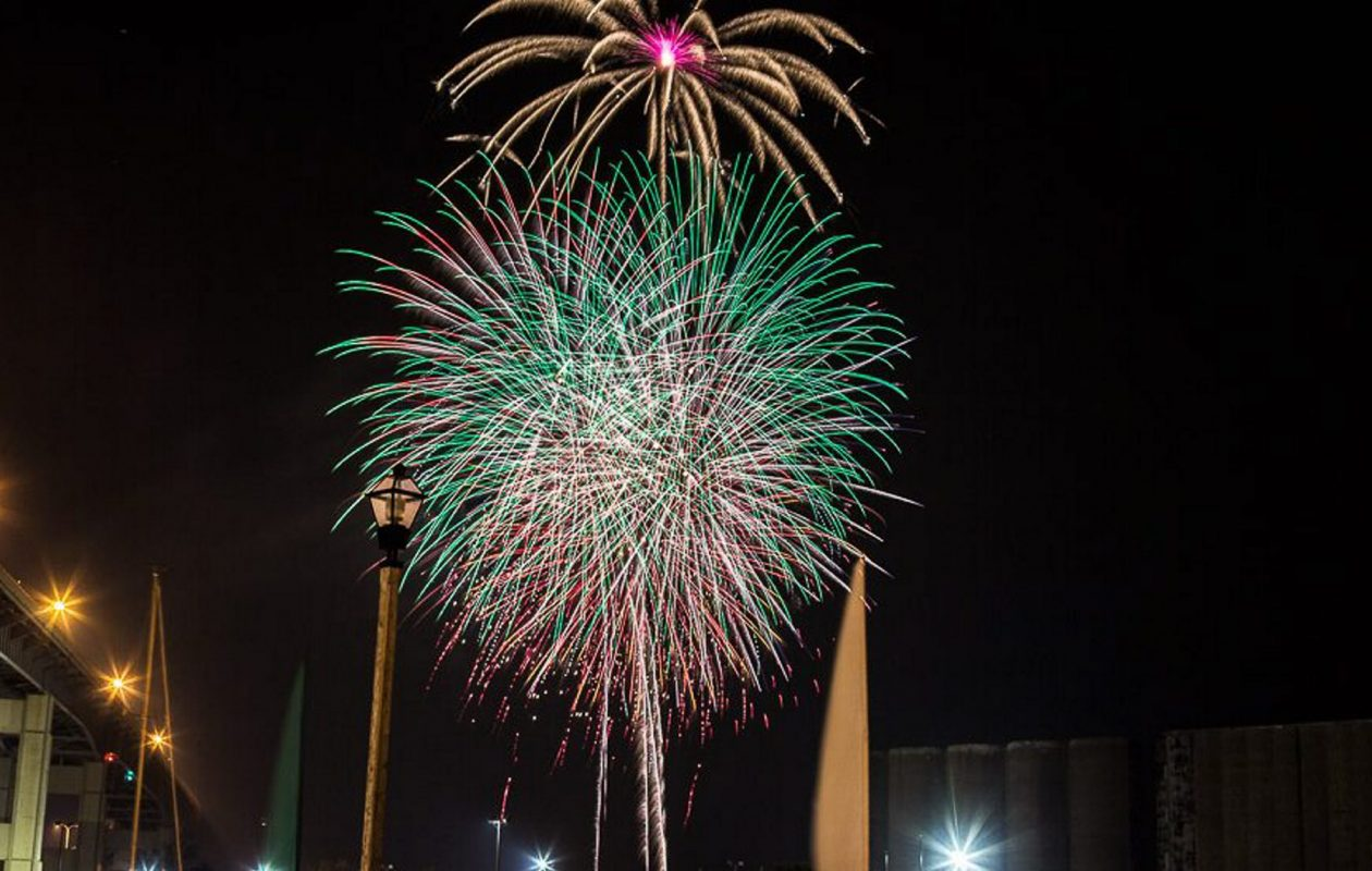 Fireworks at Canalside on 2016. (News file photo)