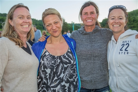 Smiles at the Ellicottville Music Festival