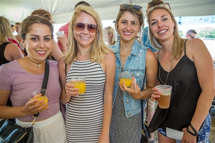 Smiles at Buffalo Brunch Festival at Outer Harbor