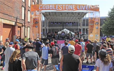 Cobblestone Live! music festival