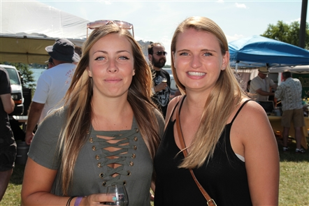 Smiles at Brews and Wines on the Water