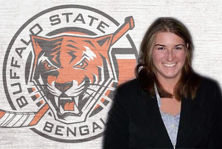 Jennifer Wilson is the new women's hockey coach at Buffalo State. (Buffalo State Athletic Communications)