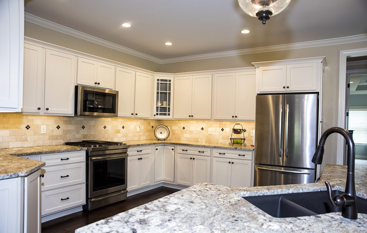 Regency Builders has three homes in the Horizons Tour of Homes 2017. This kitchen is in the Fairview model.