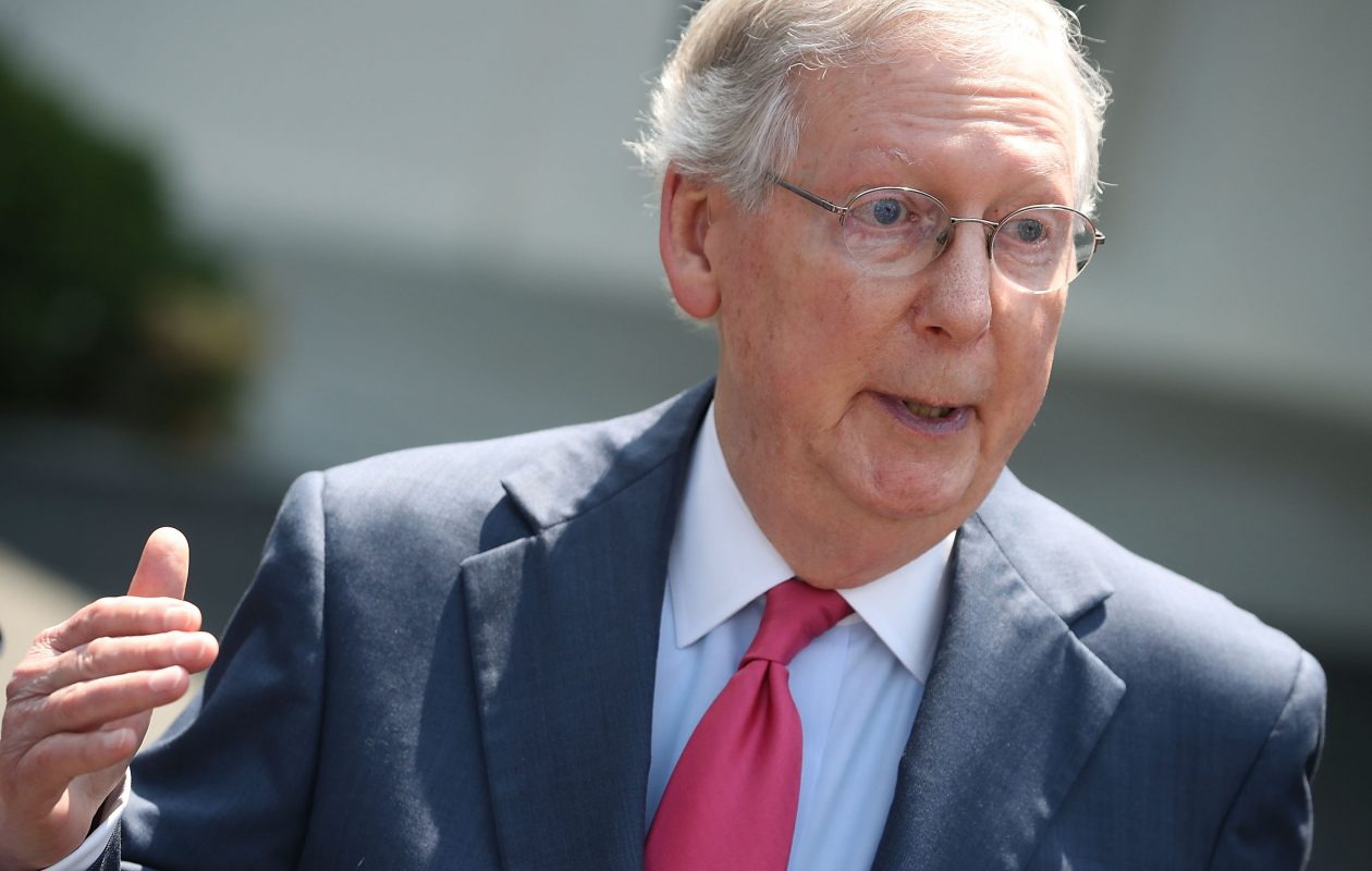 If Senate Majority Leader Mitch McConnell is serious about improving health care, he needs to include Democrats in future negotiations. (Getty Images)