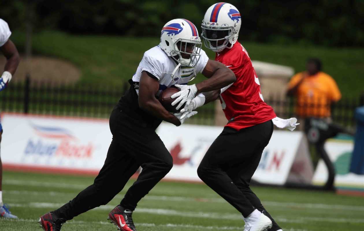 Quarterback Tyrod Taylor and running back LeSean McCoy have been in the Bills' backfield together since 2015. (James P. McCoy/Buffalo News)