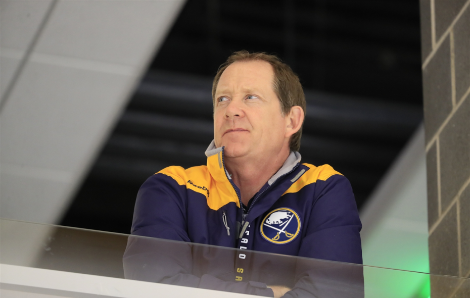 Phil Housley offered condolences to the victims of the Humboldt bus crash. (Harry Scull/News file photo)