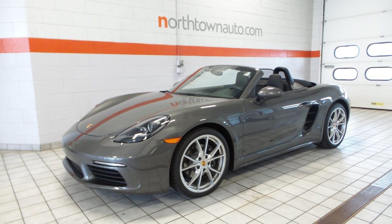 A 2018 Porsche Boxster, similar to this 2017 model, will be raffled at Taste of Clarence.