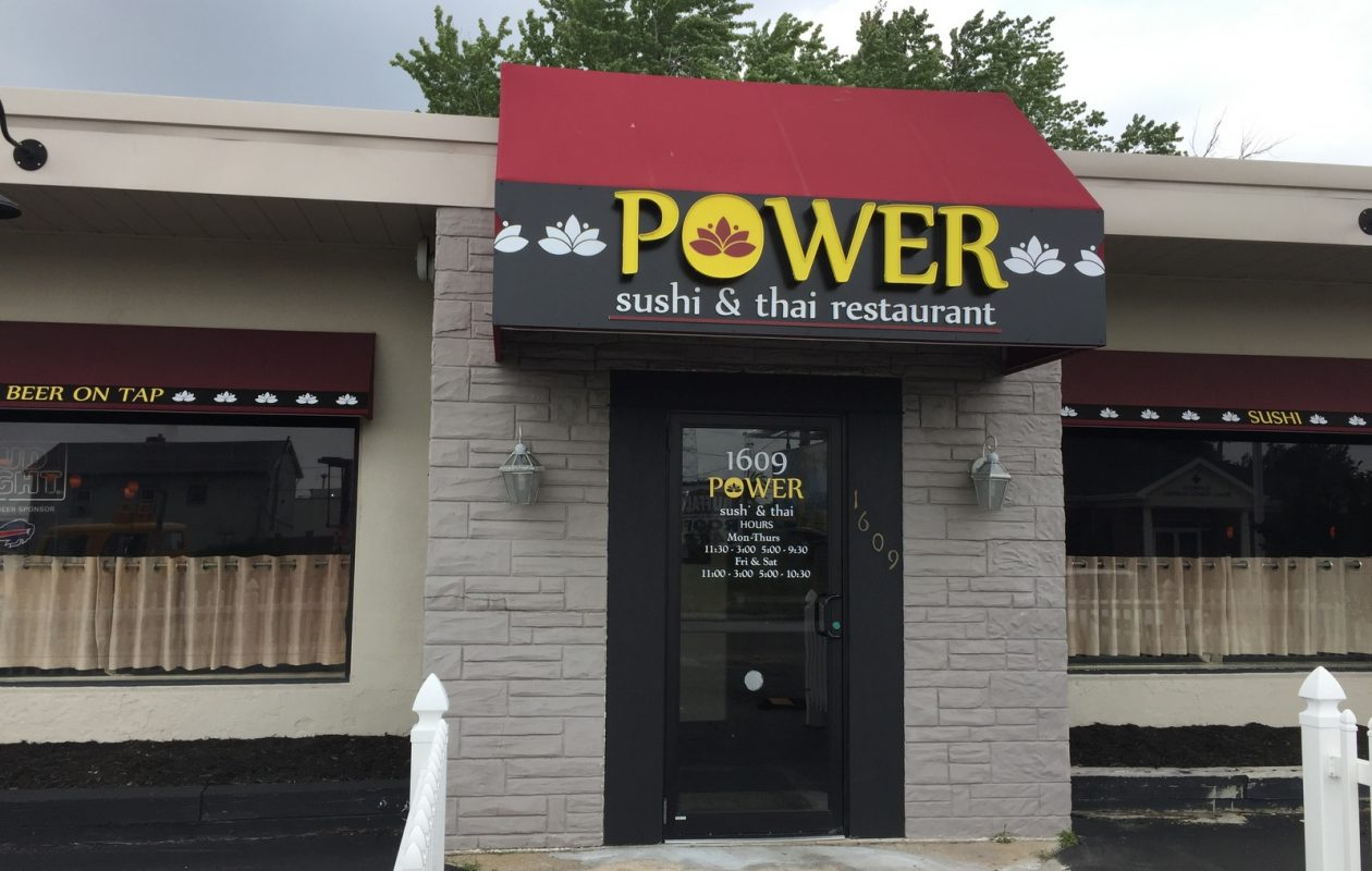 Power Sushi & Thai has opened where Amigos last served on Kenmore Avenue. (Andrew Galarneau/Buffalo News)