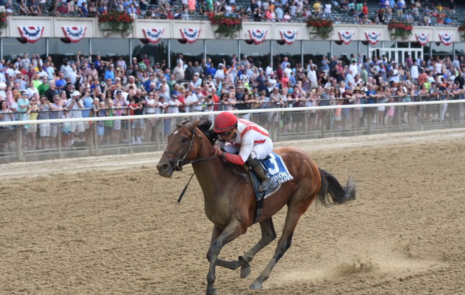 Practical Joke won the Dwyer at Belmont in his prep for the Haskell Photo Credit: Annette Jasko/NYRA