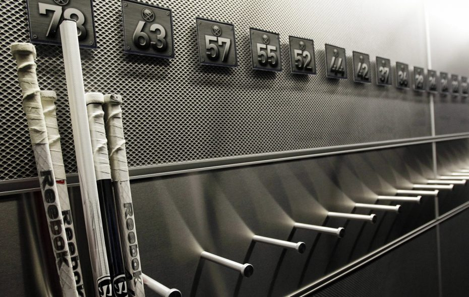The locker room. (Buffalo News file photo)