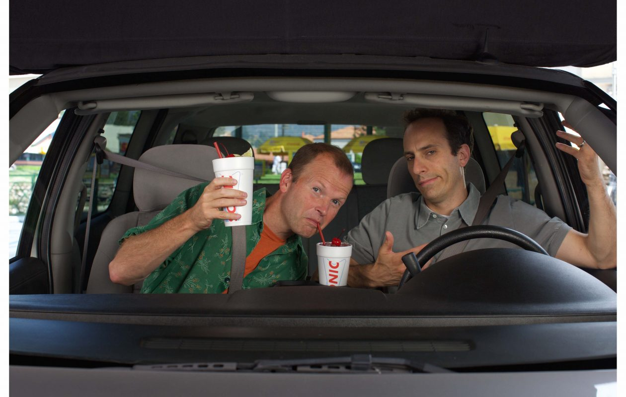 T.J. Jagodowski and  Peter Grosz  are the stars of Sonic Drive-In's TV campaign. (Contributed photo)