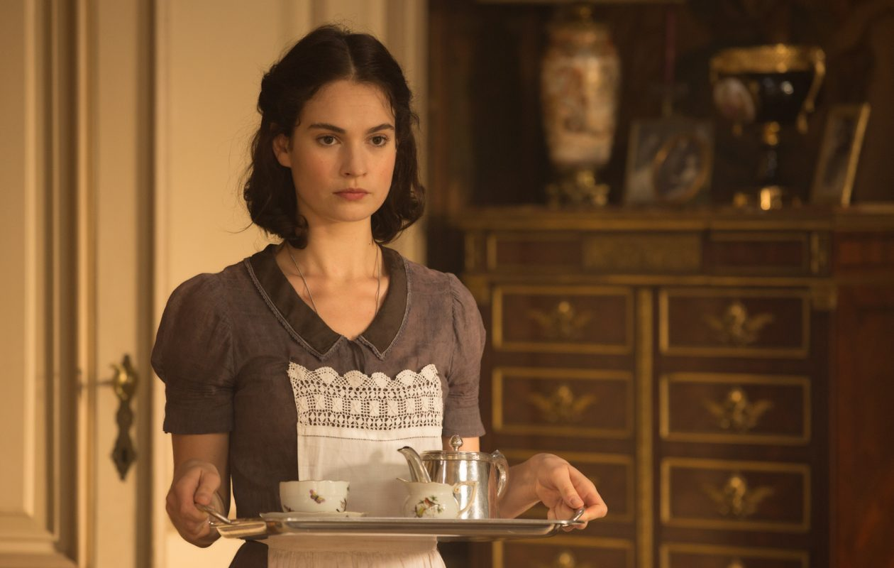 Lily James stars in 'The Exception.' (Photo by Jo Voets)