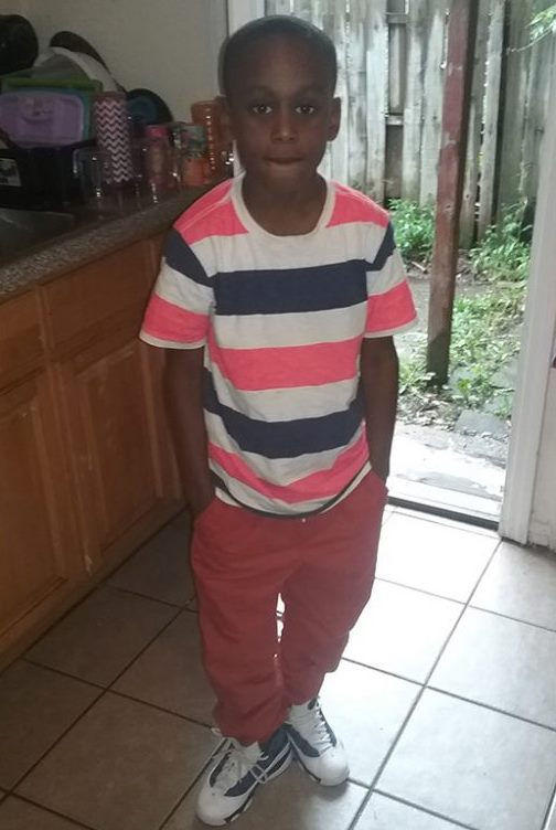 Tremont Seals, 7, was struck by a car in a hit-and-run on the Fourth of July. (Provided by the Seals family)