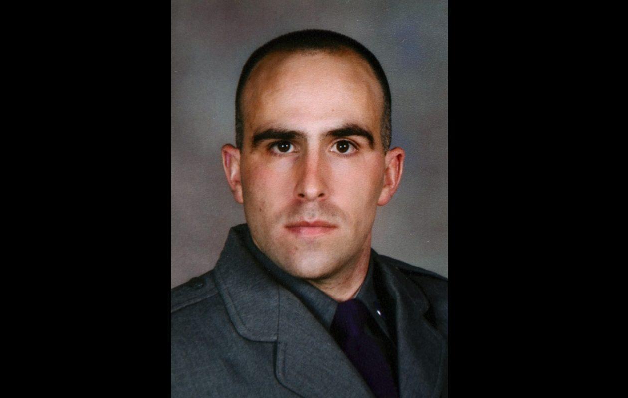 State Trooper Joel R. Davis, 36, was killed Sunday night in Jefferson County. (New York State Police)
