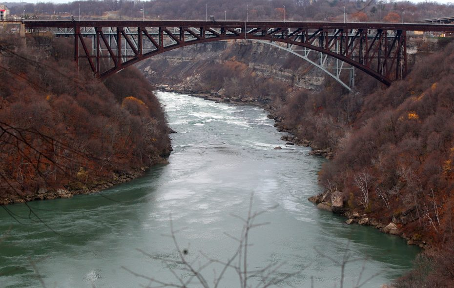 The waters of the lower Niagara River are treacherous. (News file photo)