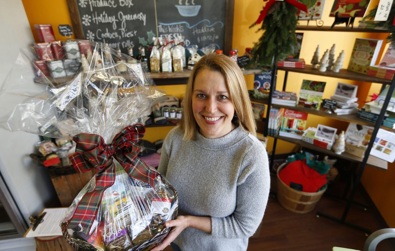 Farmers & Artisans owner Julie Blackman, shown here in her shop in Snyder in December, is among the new vendors in the Innovation Center on the Buffalo Niagara Medical Campus.    (Mark Mulville/Buffalo News file photo)
