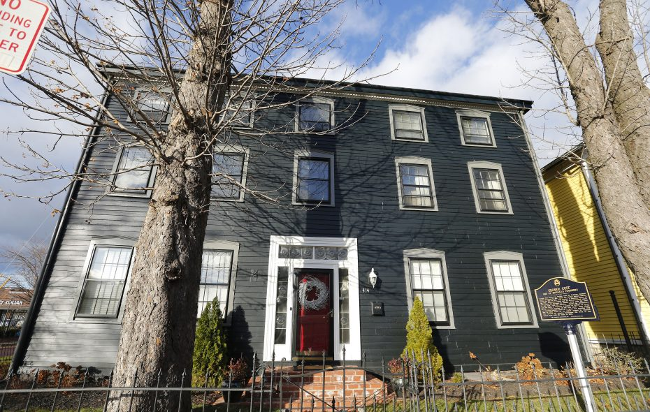 The historic home of one of Buffalo's founders, George Coit, at 414 Virginia St. in 2016.    (Mark Mulville/News file photo)