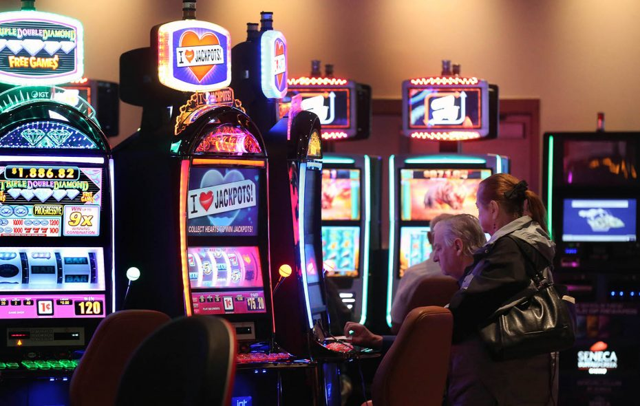 Municipalities around New York State are no longer receiving shares of profit from casinos such as the Seneca Buffalo Creek Casino. (Sharon Cantillon/News file photo)