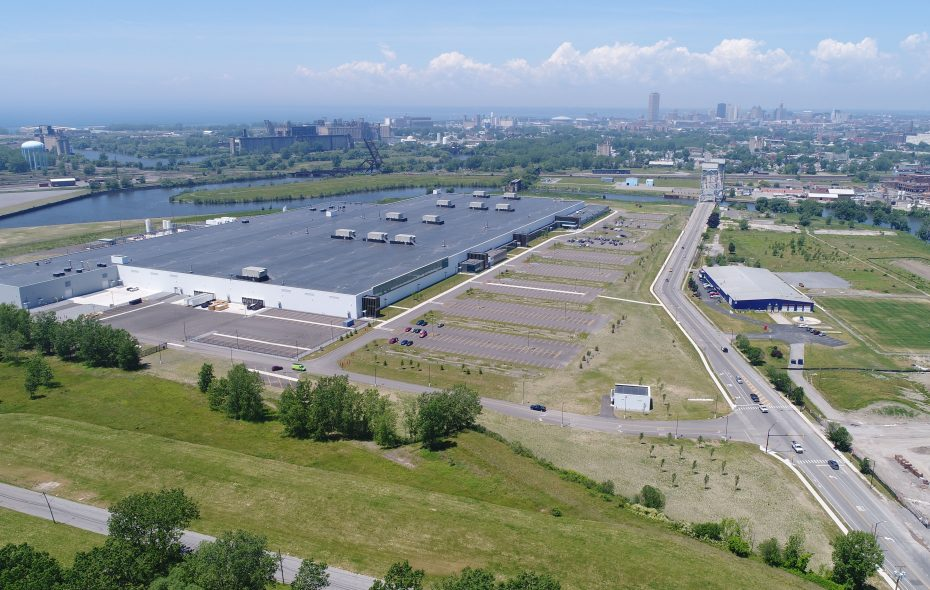 Federal plans for tariffs and tax incentives benefiting the coal and nuclear industries could harm the nation's developing solar power industry, including the SolarCity plant on South Park Avenue. (Derek Gee/Buffalo News)
