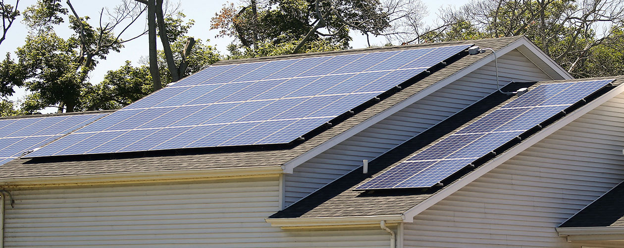 The Solarize Lockport campaign is designed to encourage use of solar panels. (Mark Mulville/News file photo)