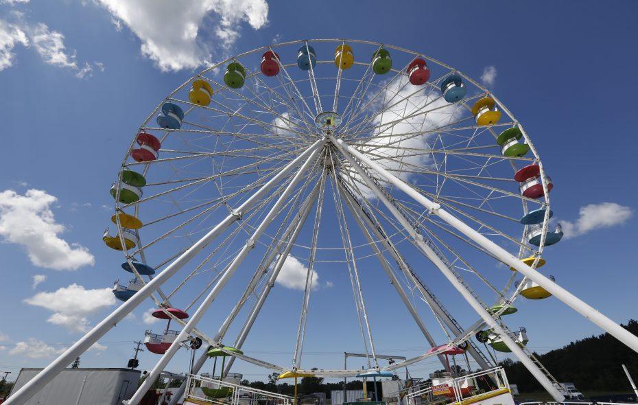 The Ferris wheel at the Erie County Fair.   (Derek Gee/Buffalo News)