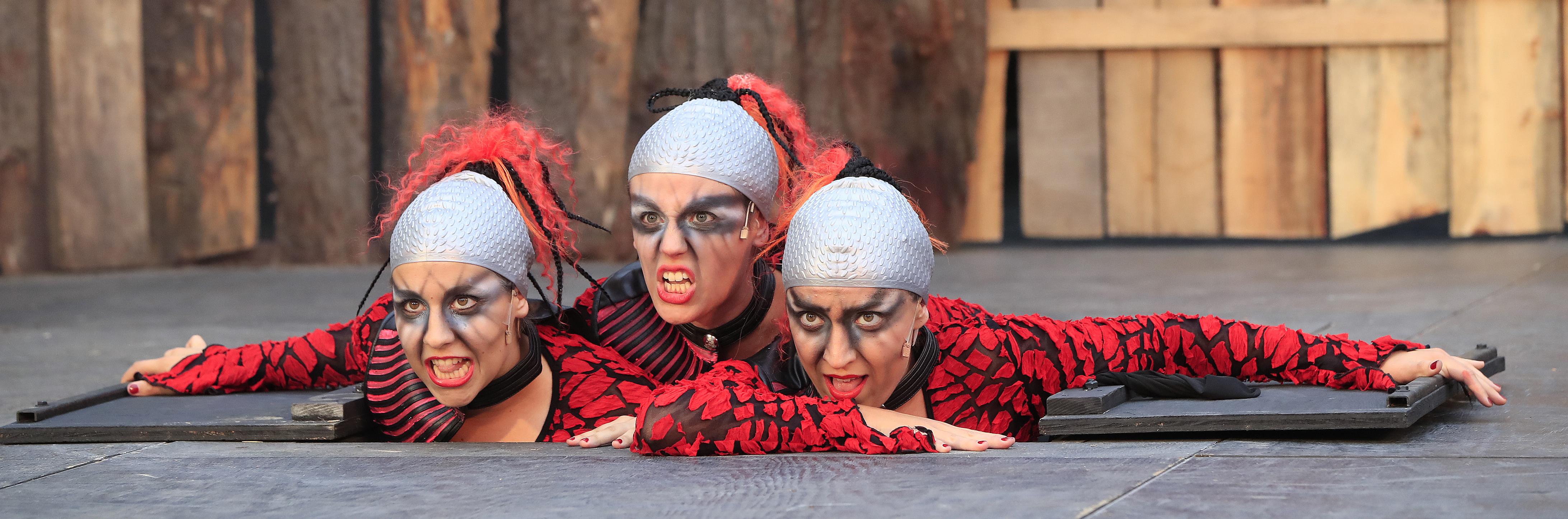 Matt Witten stars in Shakespeare in Delaware Park's production of  Macbeth.' (Harry Scull Jr./Buffalo News)