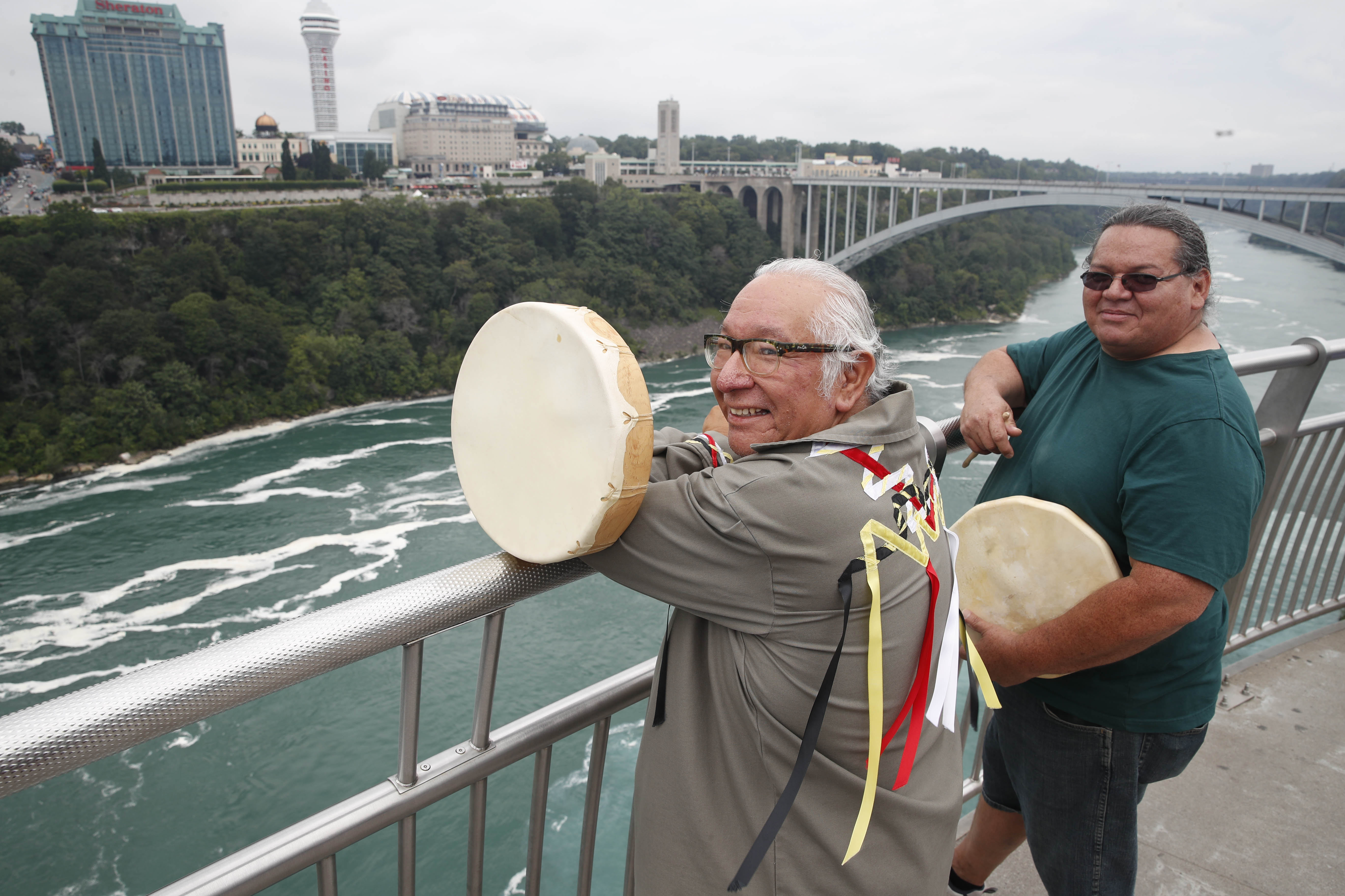 Rumble at the Falls to start with echoes of native drums across the