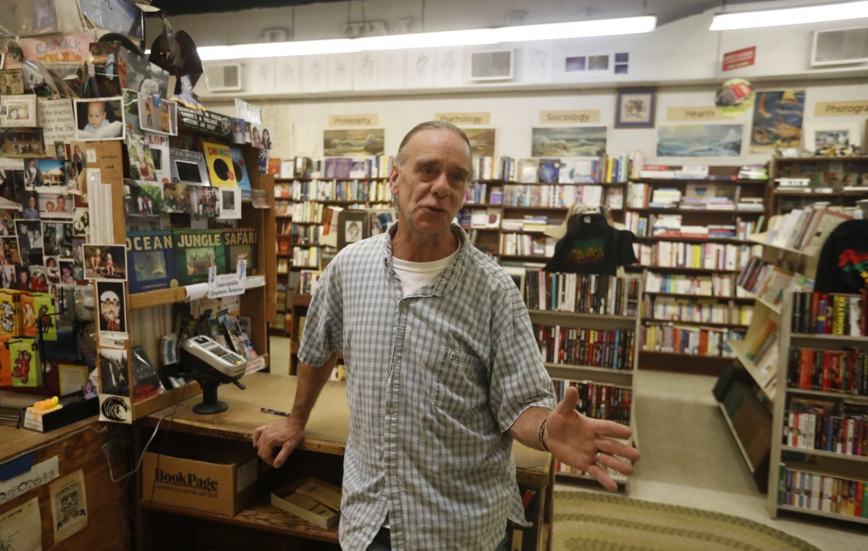 'So many people's memories of their childhood are in our store,' said Jeffrey Morrow, who bought The Book Corner from his father, Parke Theron 'Pete' Morrow Jr., in 2001. (John Hickey/Buffalo News)