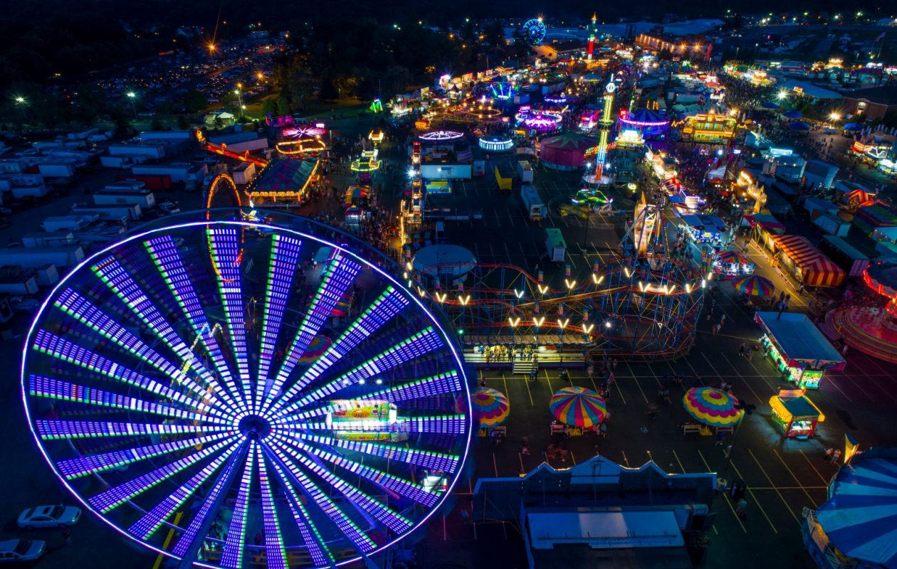 This is the 150th year the event will be held at the Hamburg Fairgrounds.  (Derek Gee/Buffalo News)
