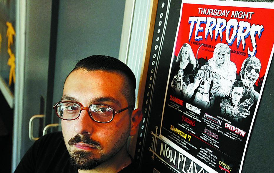 The seventh season of Peter Vullo's Thursday Night Terrors film series returns Aug. 22 at the Dipson Amherst Theatre. (Sharon Cantillon/News file photo)