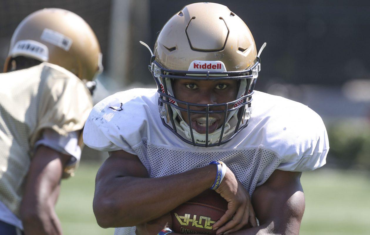 Kenyatta Huston is a big-play threat for Canisius as the speedy running back scored 10 touchdowns last season.  (James P. McCoy/Buffalo News)