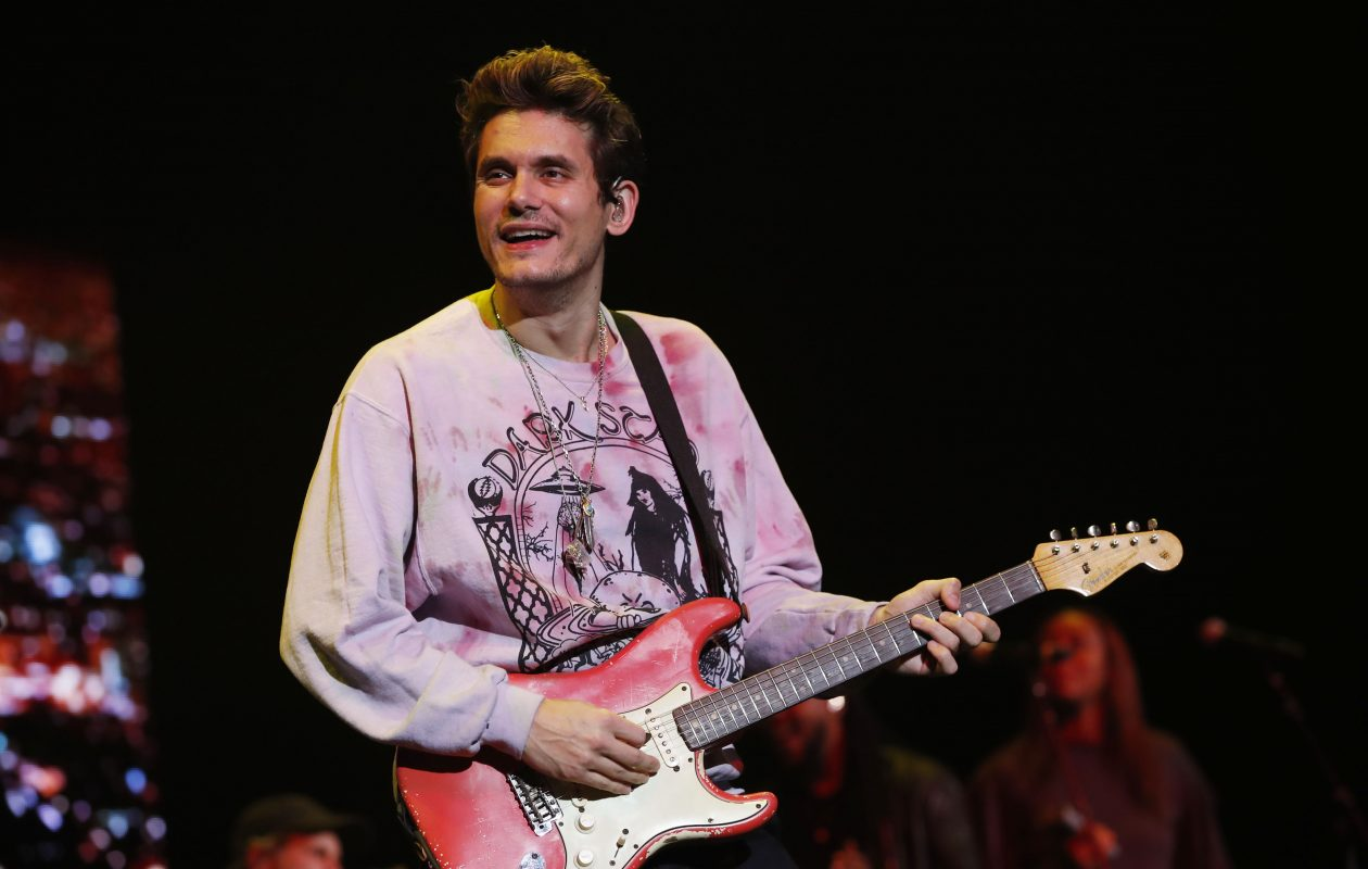 John Mayer on the Search for Everything Tour, performs at Darien Lake on Sunday, Aug. 27, 2017. (Sharon Cantillon/Buffalo News)