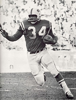 Cookie Gilchrist played with the Buffalo Bills for three seasons in the AFL years. (Buffalo News archives)