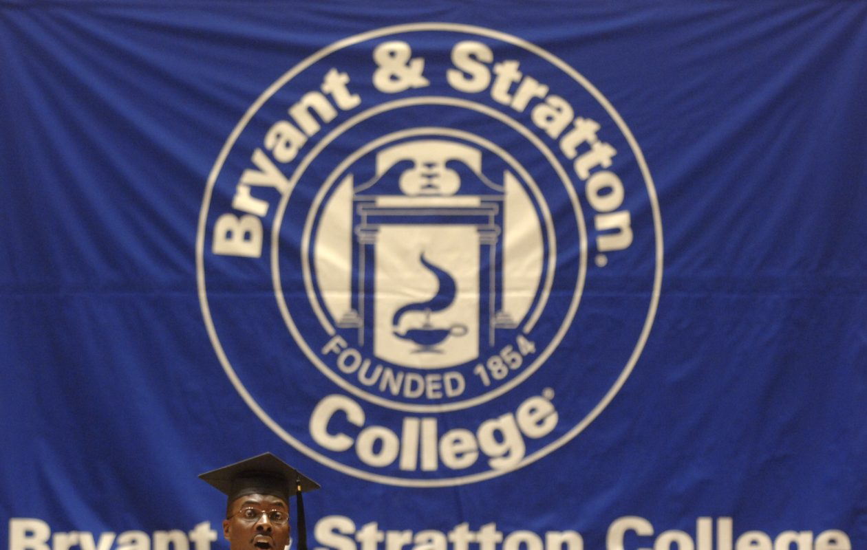 Mayor Byron Brown gave the Bryant & Stratton College commencement address in 2006. (Buffalo News file photo)