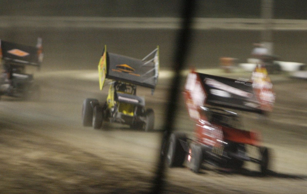 The action is always fast at Ransomville Speedway.  (Mark Mulville/News file photo)