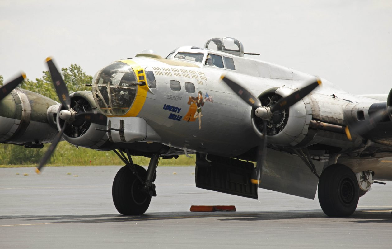 The Madras Maiden, a B-17 bomber similar to the Liberty Belle (pictured here) that visited Buffalo several years ago, will be in town for tours next week. (Buffalo News file photo)