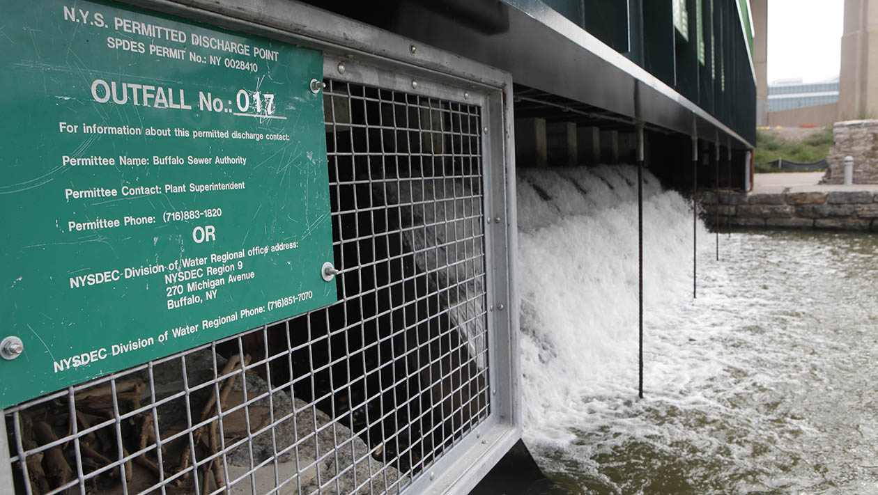 Four of upstate's biggest wastewater polluters can be found in Buffalo Niagara