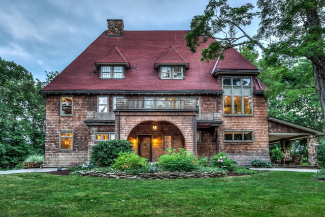 The Rushing Waters estate on Gypsy Lane in the Town of Aurora sold for $1.4 million this summer.