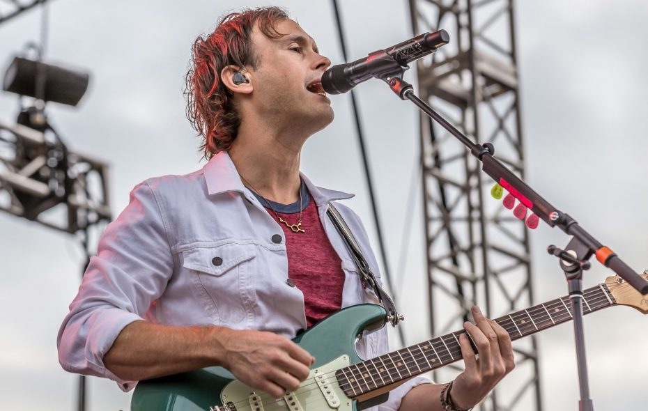 Atlas Genius frontman Keith Jeffery performs on Aug. 19 for Edgefest, Part 3, in Artpark. (Don Nieman/Special to The News)