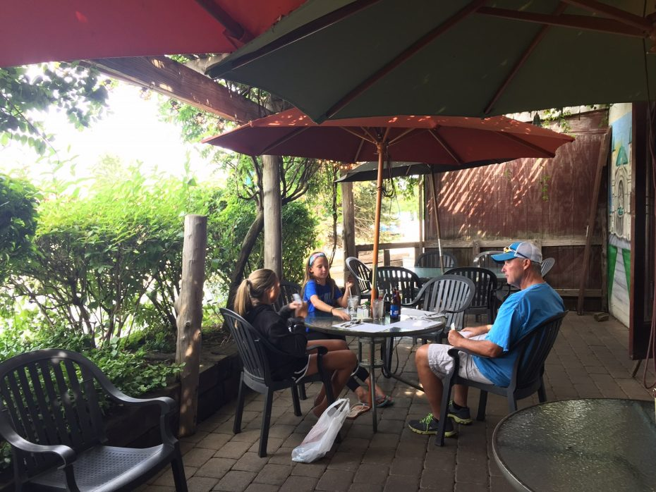 The Cozy Patio At Ou0027Daniels Is Perfect For A Family Card Game. (Elizabeth  Carey/Special To The News.)