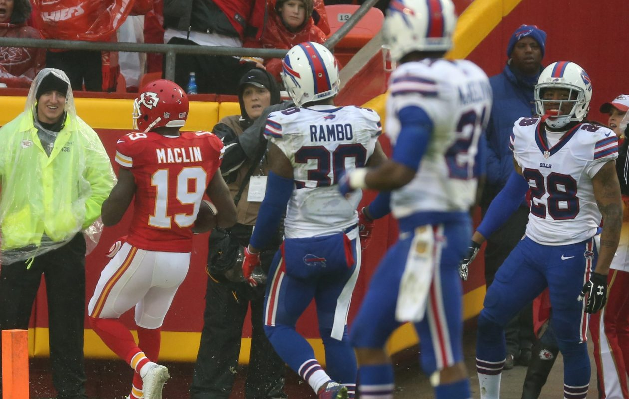 Safety Bacarri Rambo was among the six players released by the Bills Tuesday.
