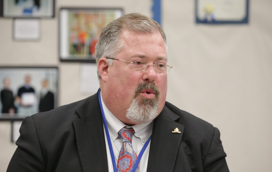 Frontier Central School District Superintendent Bret Apthorpe is leaving to run the Jamestown school district. (File photo/John Hickey/Buffalo News)