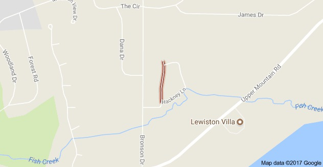 New subdivision is planned south of Bridle Path Lane in Lewiston. (Google Maps)