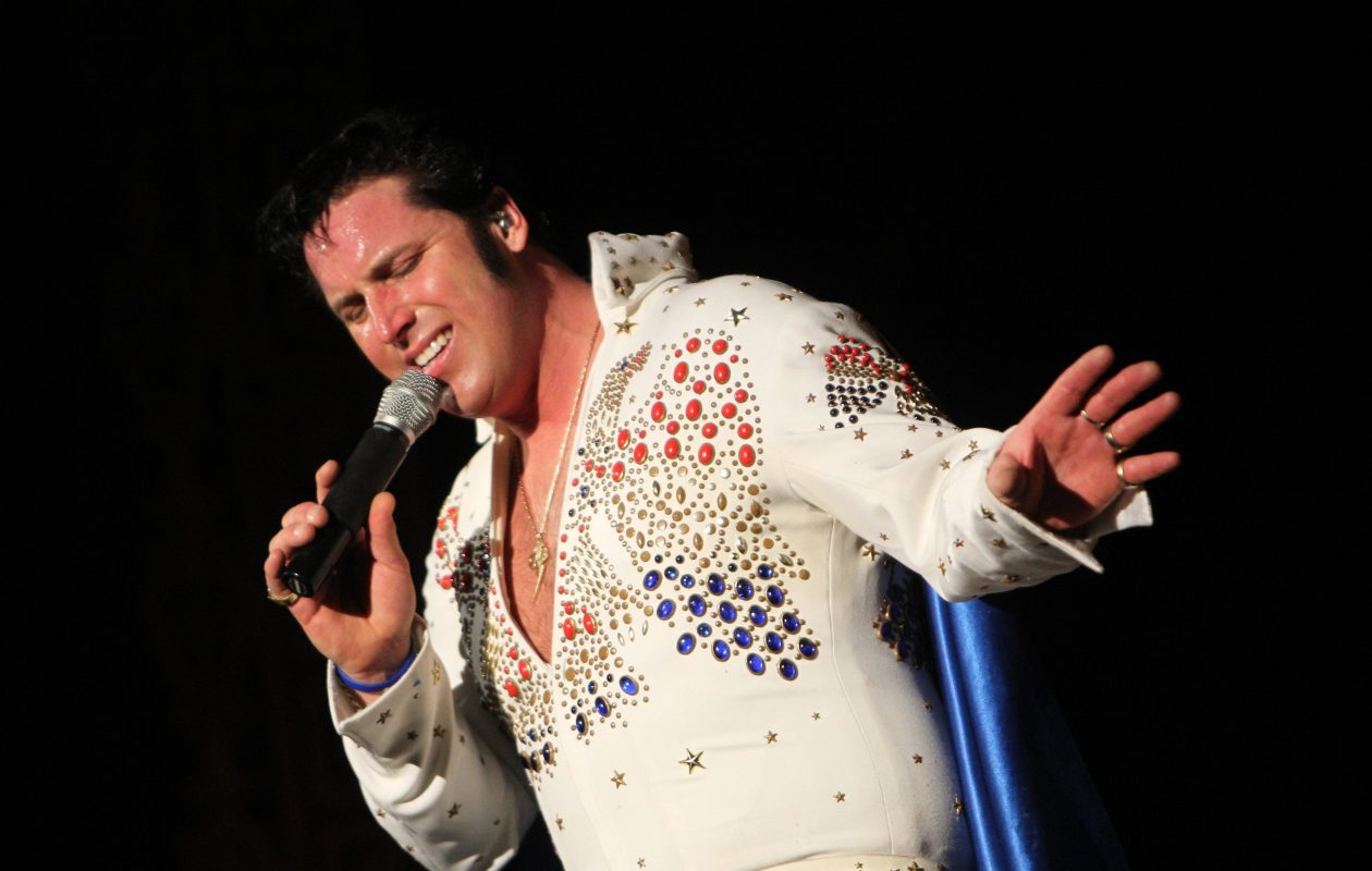 Long-time Elvis impersonator Terry Buchwald will be inducted into the Buffalo Music Hall of Fame. (Sharon Cantillon/Buffalo News file photo)