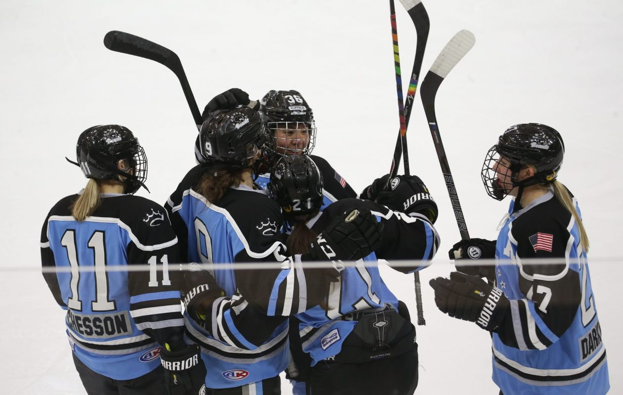 The Buffalo Beauts added five players in Thursday night's NWHL Draft. (Sharon Cantillon/Buffalo News file photo)