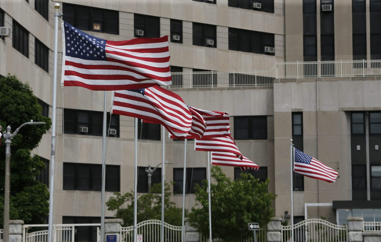 Veterans Administration Medical Center in Buffalo, shown here in 2014.  (Derek Gee/Buffalo News file photo)