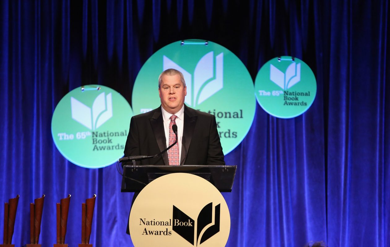 Daniel Handler at the 2014 National Book Awards in New York City. (Robin Marchant/Getty Images)