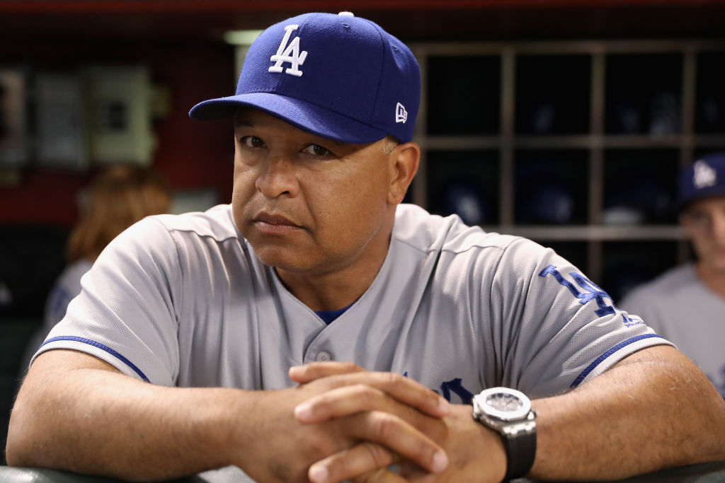 Buffalo Baseball Hall of Famer Dave Roberts has the Dodgers challenging the Mariners' all-time record of 116 wins (Getty Images).